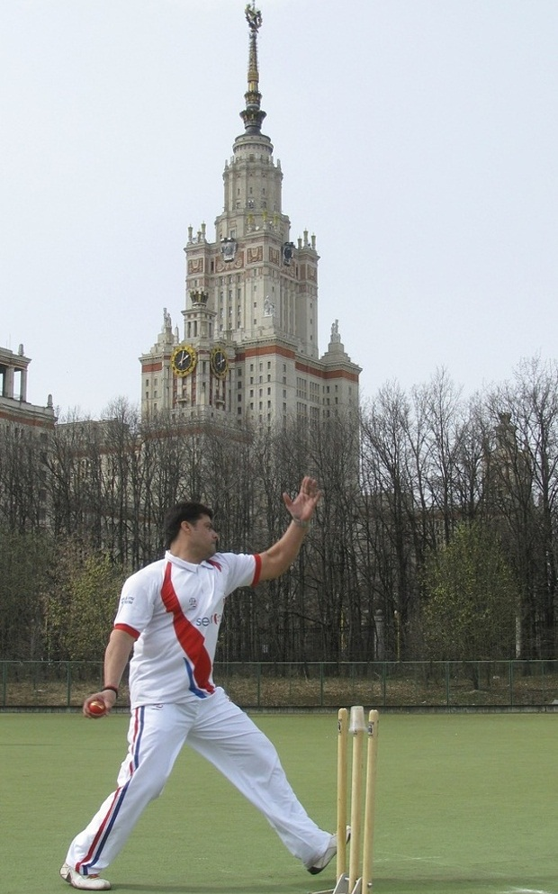 Cricket in Moscow