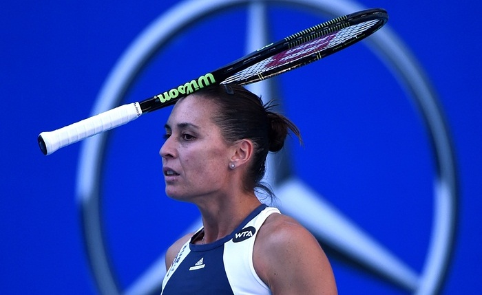 Flavia Pennetta not doing it right
