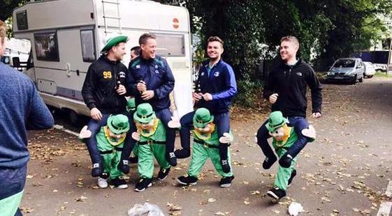Ireland fans WTF