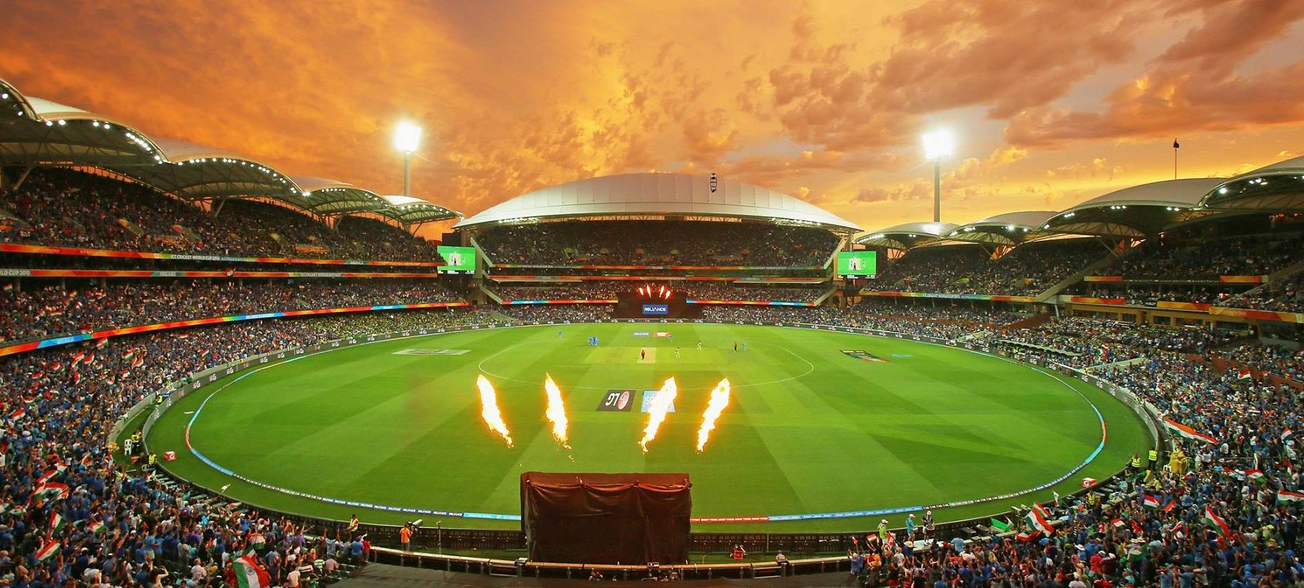 Adelaide Oval night