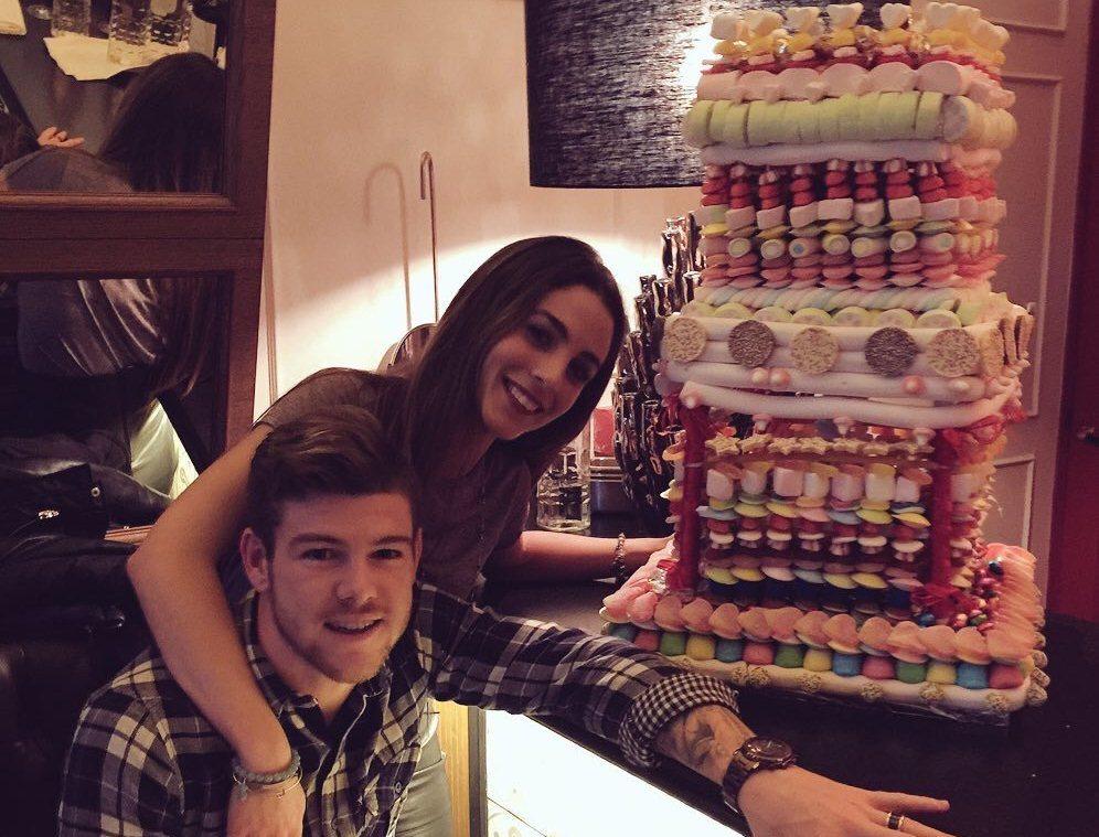 Alberto Moreno birthday cake
