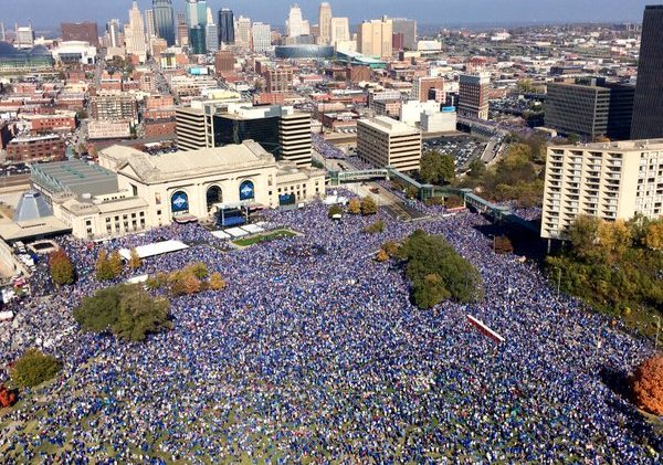 Now that's a Victory Parade