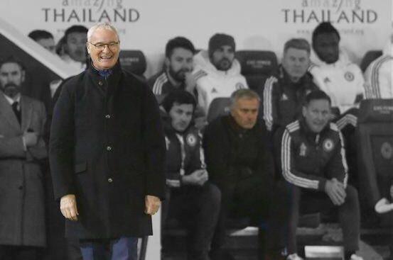Claudio Ranieri Jose contrast
