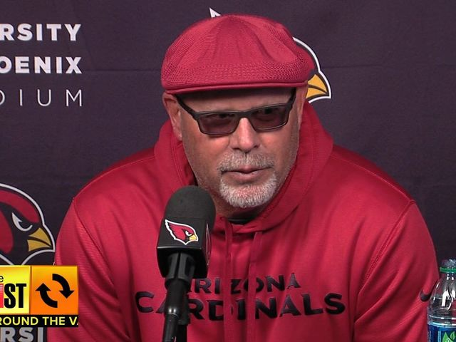 The swagger that is Arizona Head Coach Bruce Arians