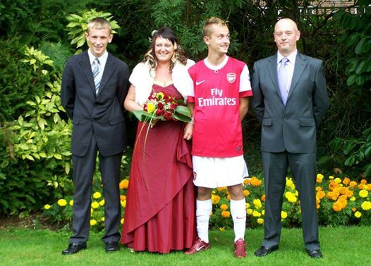 Arse full kit wedding