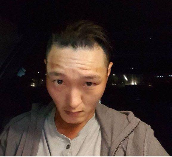 Danny Lee haircut