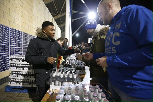 Free Singha beer for Leicester fans