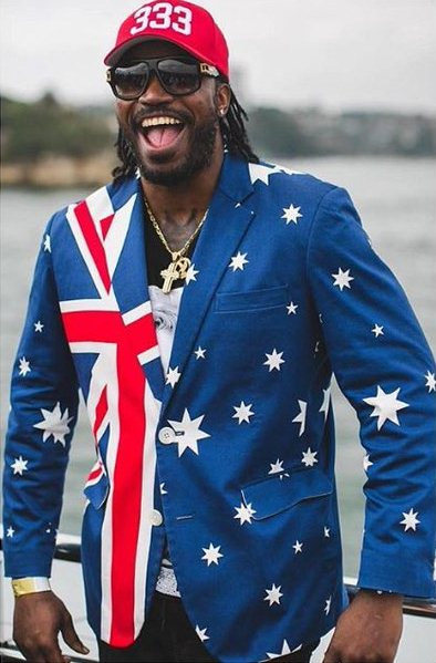 Gayle Australia day
