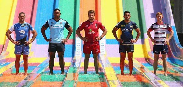 Aussie Super rugby launch