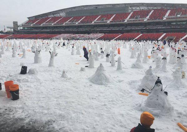 TD Place Stadium in Ottawa