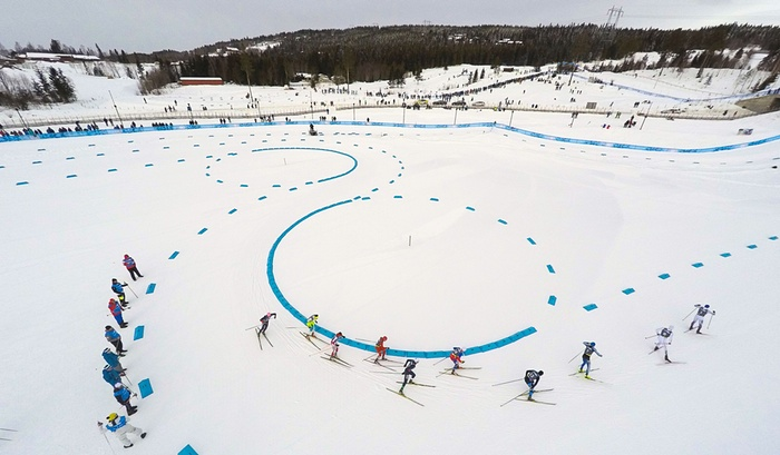 Winter Youth Olympics cross country skiing