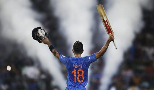 Virat Kohli victory