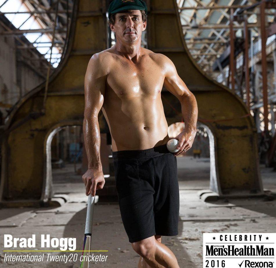Brad hogg mens mag