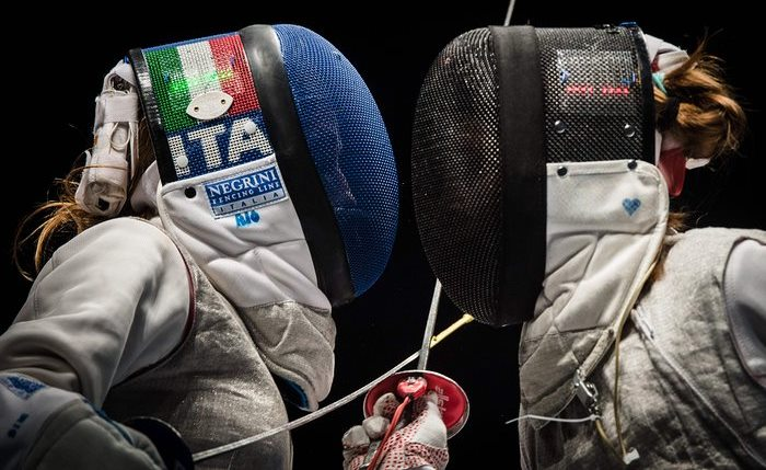 Italy Russia Olympic fencing