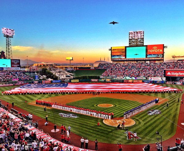 LA Angels opening day
