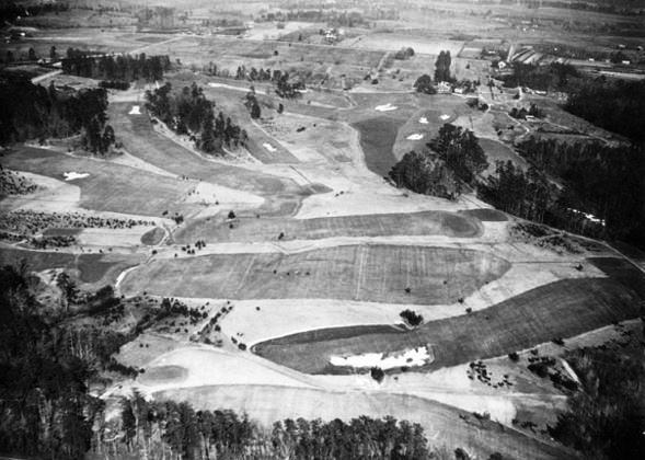 The first round of the inaugural Augusta National Invitational Tournament