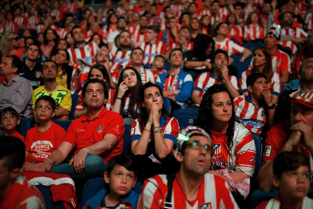 Athletico fans
