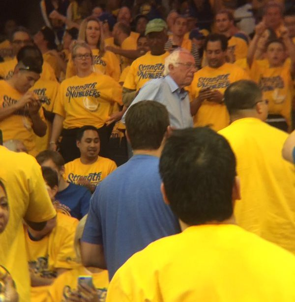 Bernie Sanders Golden State Warriors