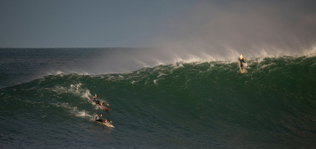 Surfing storms