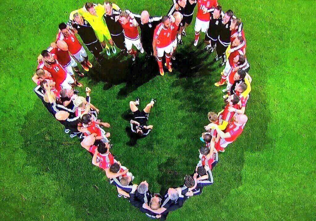 Welsh heart