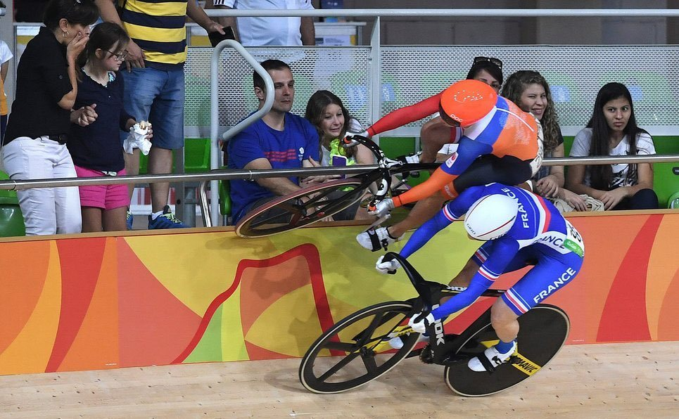 Extreme cycling Laurine van Riessen