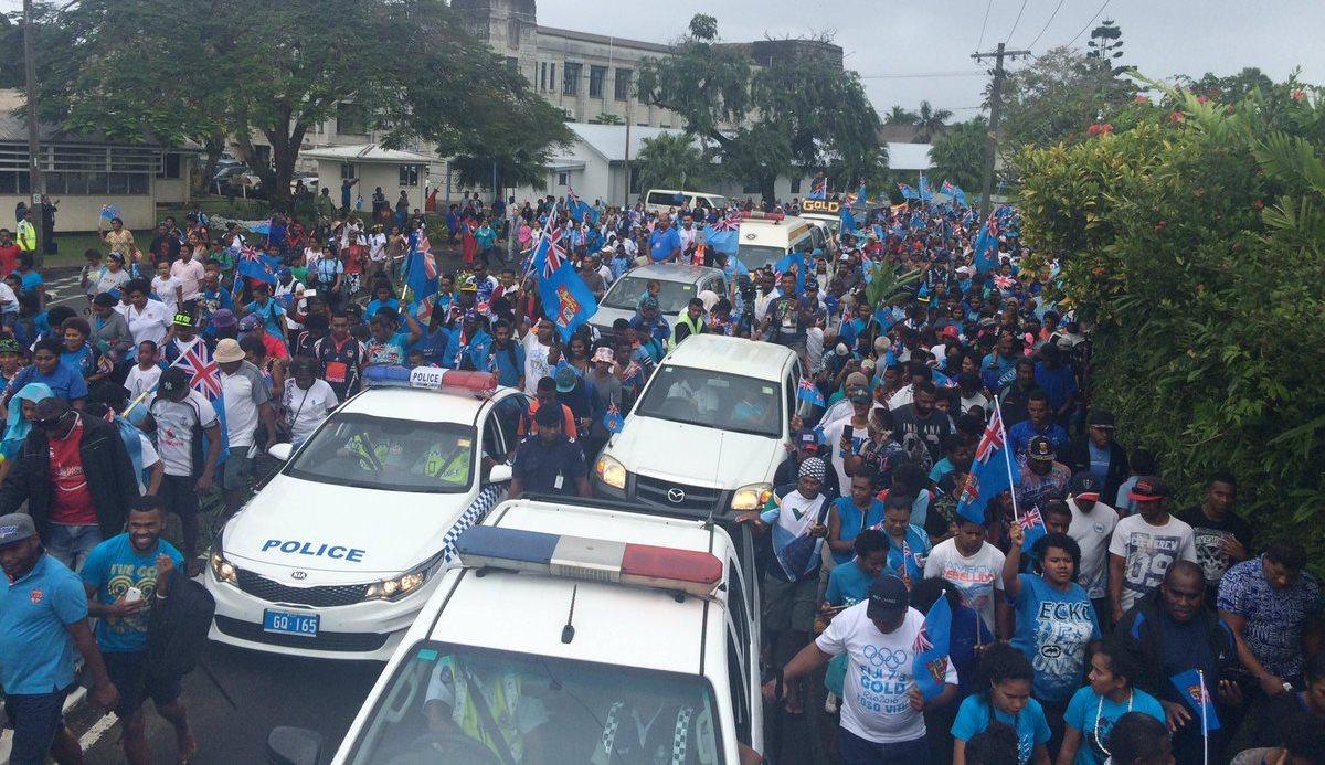 Fiji parade