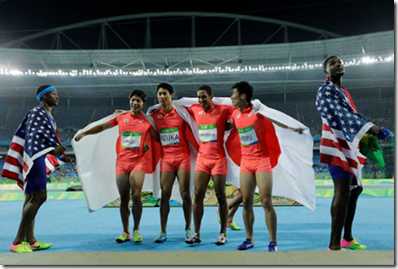 """""""Get out of our shot you drug cheats – you've just been disqualified"""""""