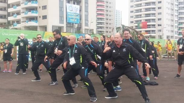 Olympic haka time