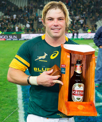 Springbok MoTM trophy