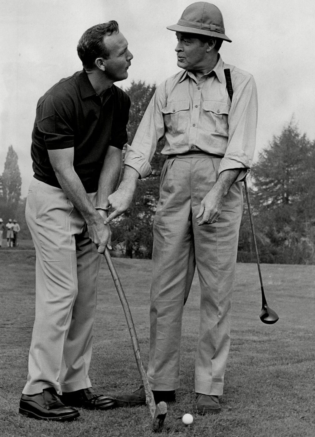 arnold-palmer-with-bob-hope-during-filming-of-call-me-bwana