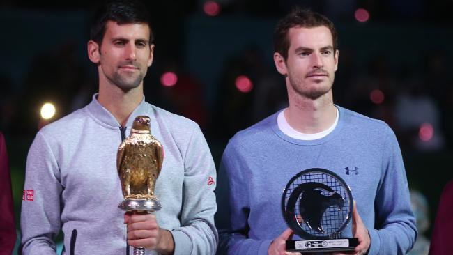 Perfect mix of people who dont like each other and strange sport trophies