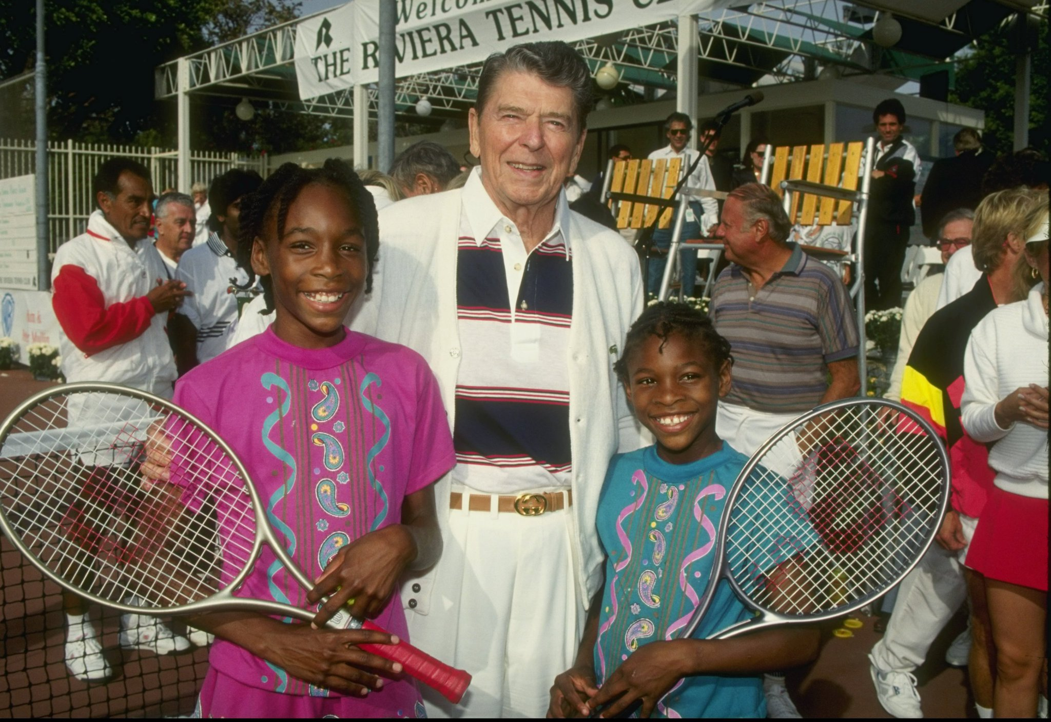 Williams sisters ron
