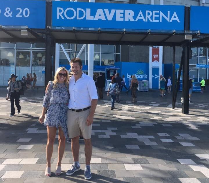 McCaw at Rod Laver shirt tucked in