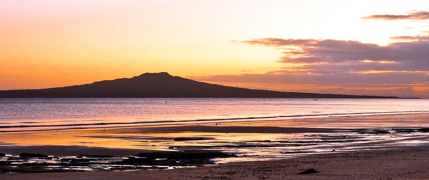 Rangitoto_Island_Sunset