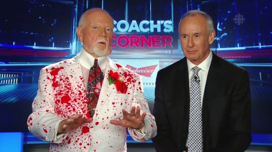 Canadian NHL analyst Don Cherry