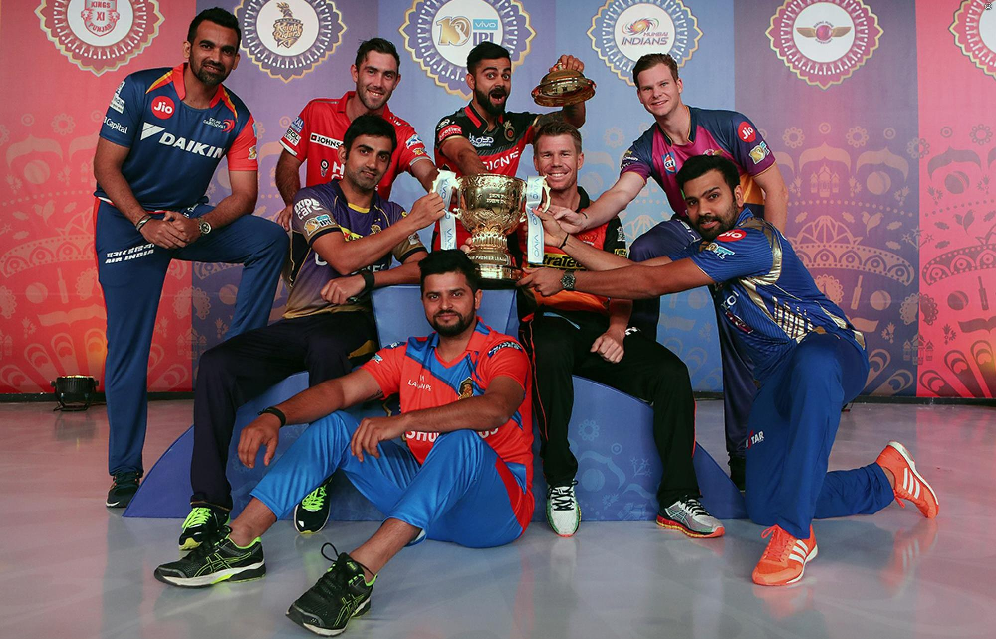 IPL-Captains