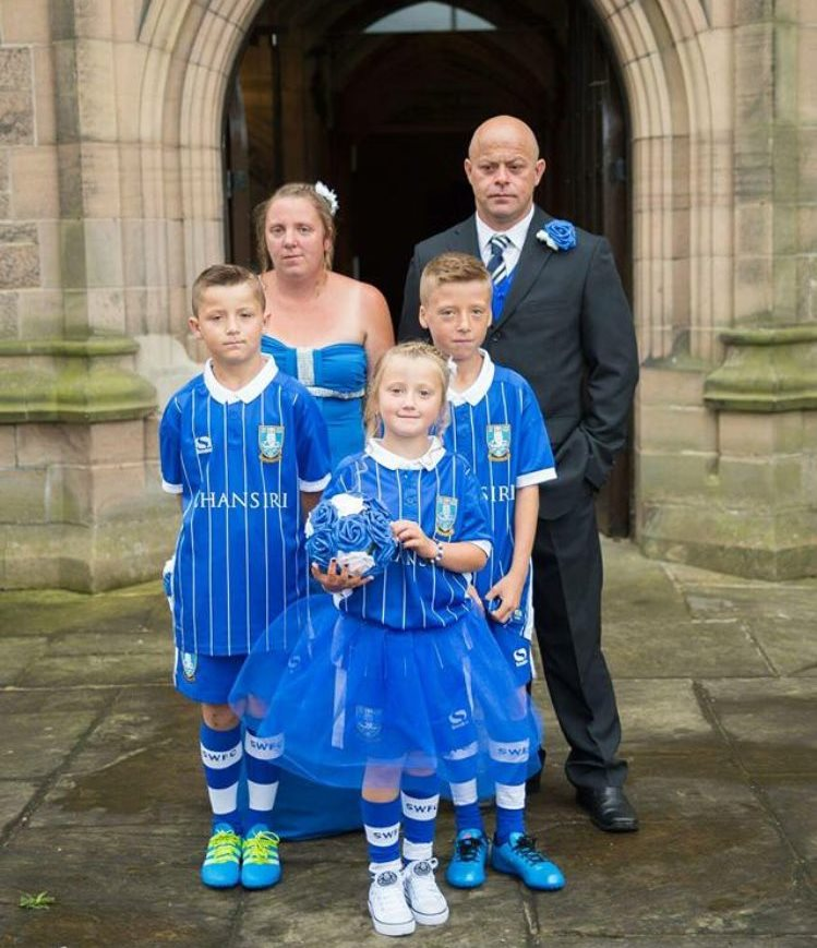 A Sheffield Wednesday wedding