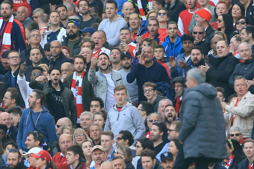 Arse fans Jose