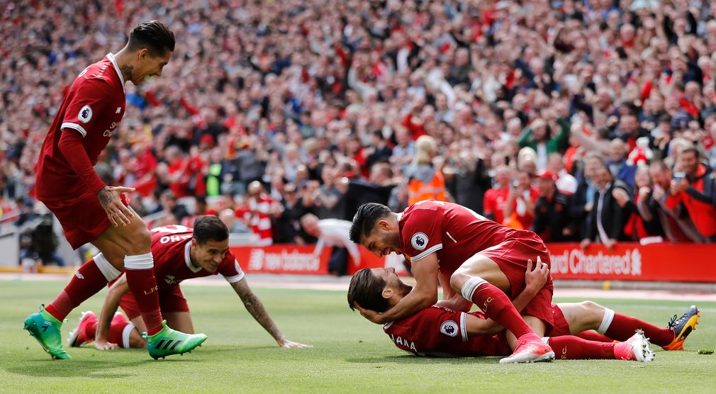 Liverpool top four second time in eight Coutinho