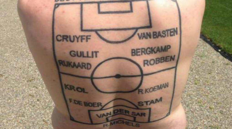 All Star Dutch XI tattoo
