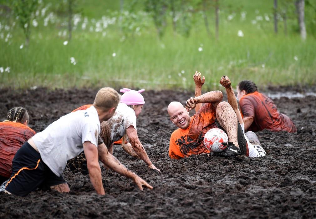 Swamp football Finland