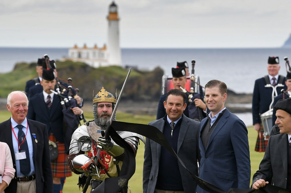 Turnberry in Ayrshire lot going on