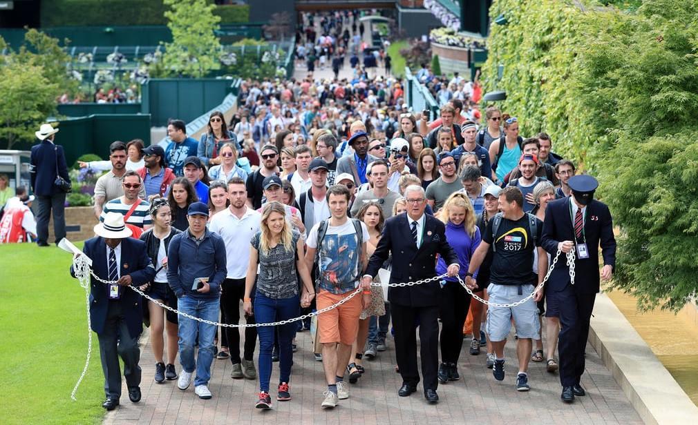 fans wimbledon