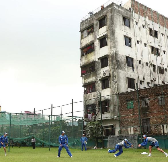 Aus training in Bangladesh