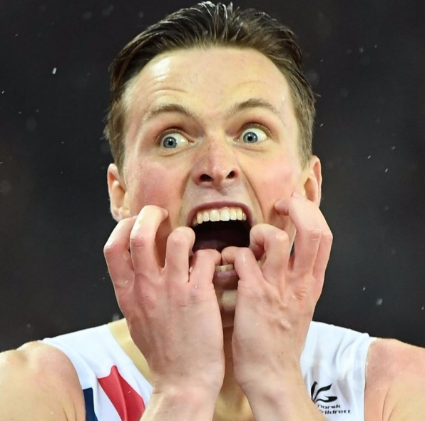 Norway's Karsten Warholm 400 metres