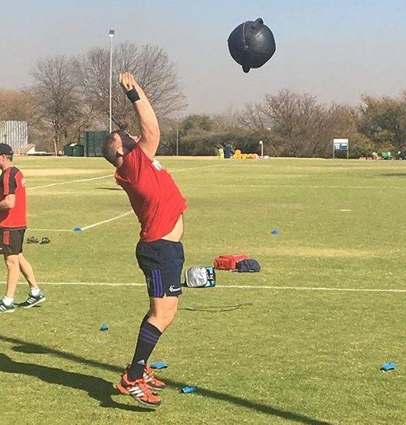 Owen Franks training