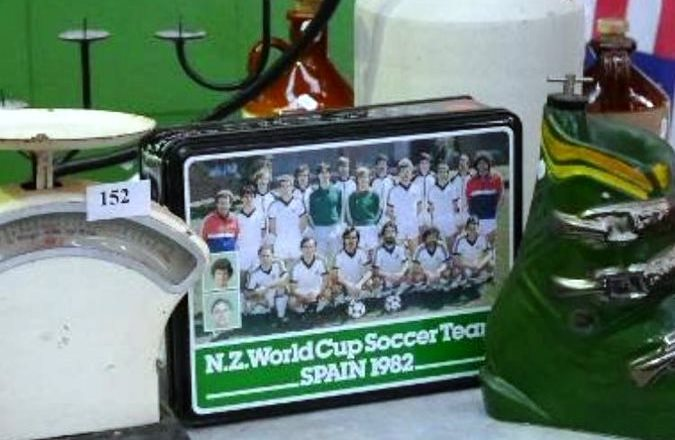 All Whites biscuit tin