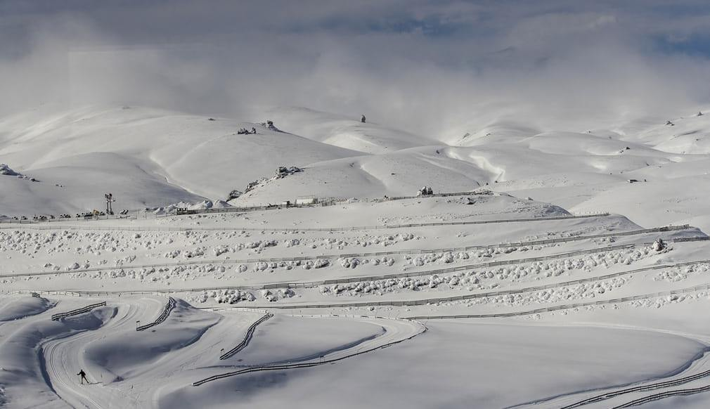 Cardrona Valley New Zealand Winter Games practice day