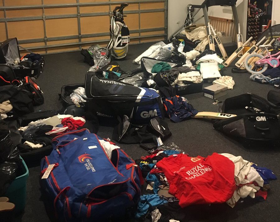 Ross Taylor workout room wheres wally