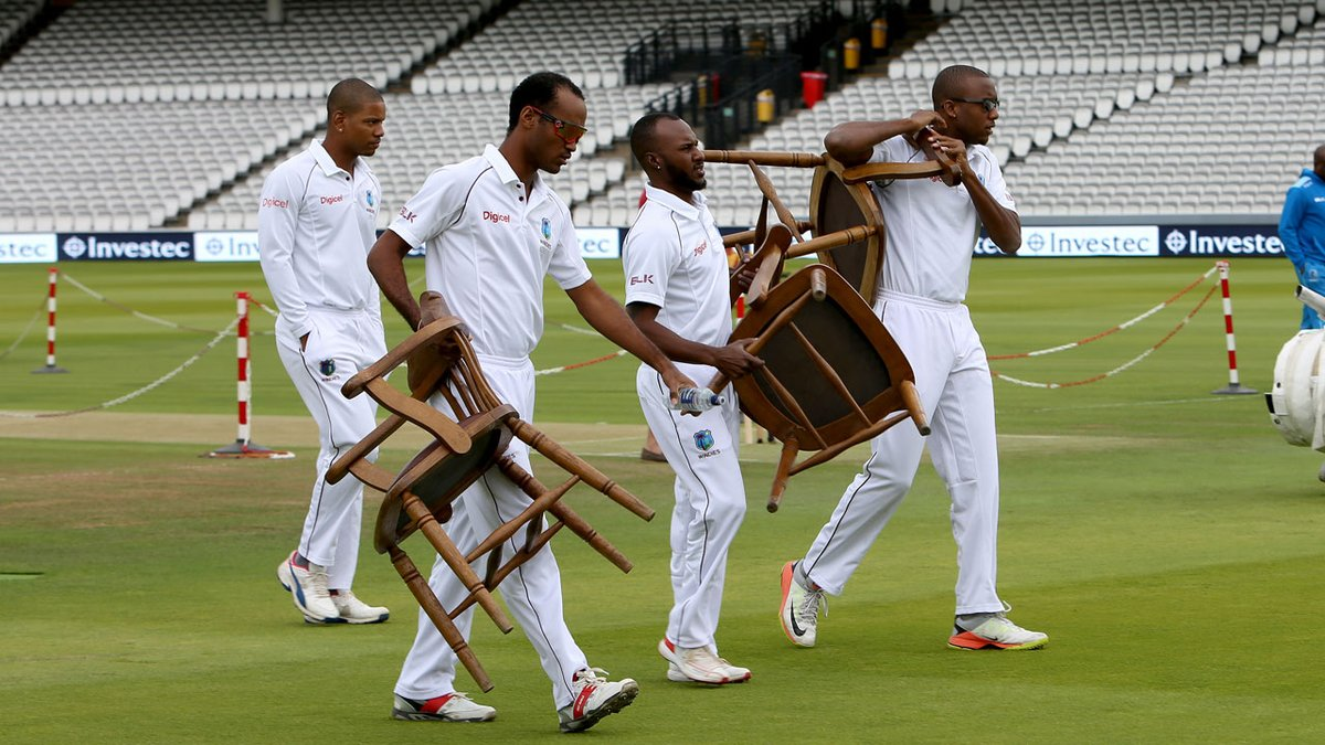Windies those chairs